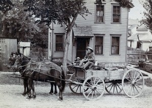 Man Driving Wagon
